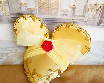 Beauty And The Beast Belle Dapper Day FascinEar™ Mouse Ear Fascinator