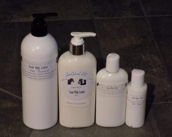 Goat Milk Lotion with Shea Olein - Choose Size and Fragrance