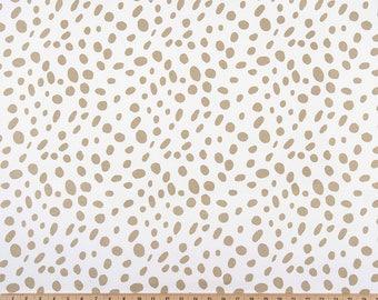 Gold Dalmatian Spots Pillow Cover. Athena Gold. Spot Print. Throw Pillow Cover. Pick a Size. Gold Decor. Gold Pillow Cover. Gold. Metallic.