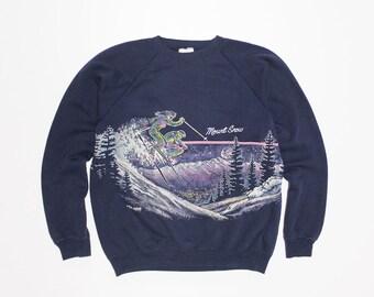 Mount Snow Crew Neck Sweatshirt