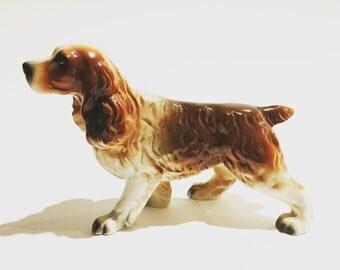 Vintage Japan Cocker Spaniel Dog Figurine Etsy