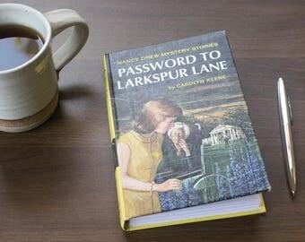 Password to Larkspur Lane Nancy Drew Journal