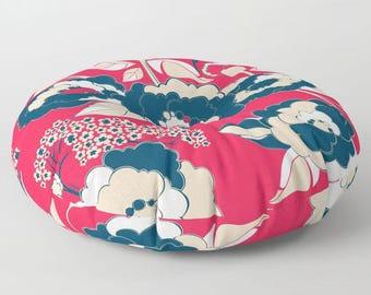 Pop Florals in Liberty Floor Cushion