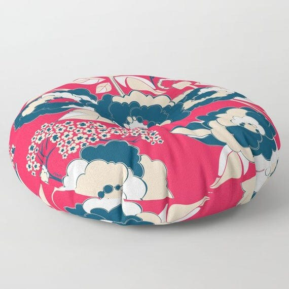 Pop Florals in Liberty Floor Cushion