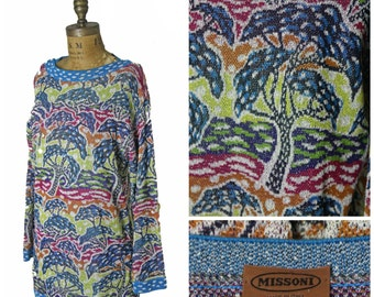 1980s Knit Missoni Dress