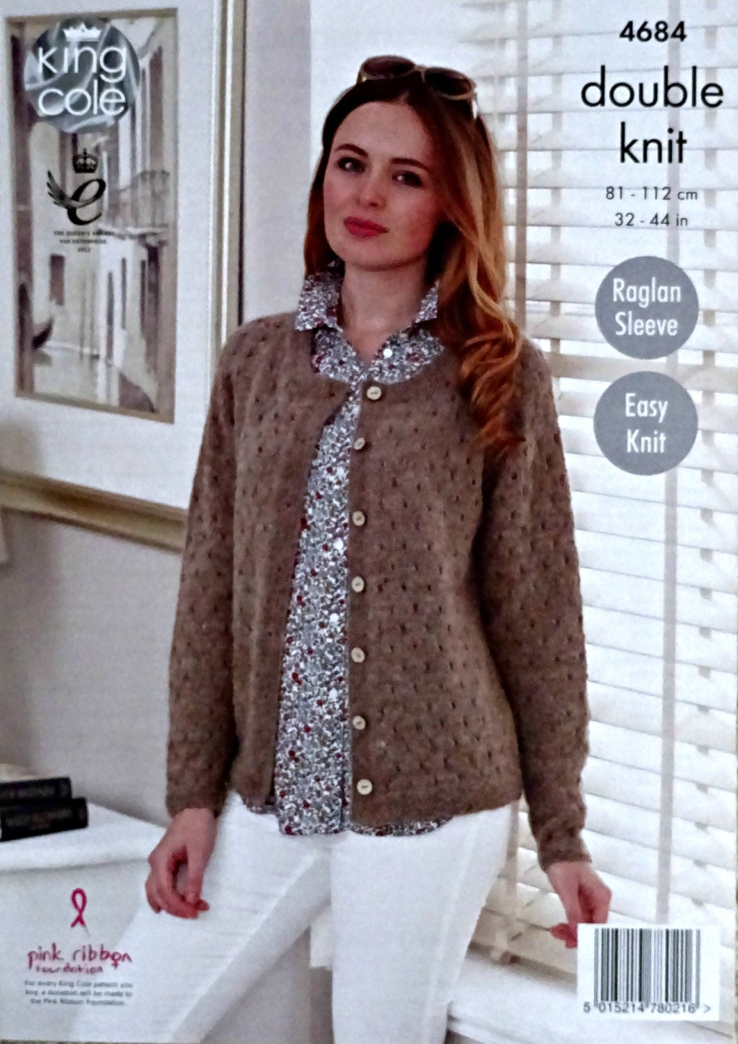 Womens Knitting Pattern K4684 Ladies Long Sleeve Easy Knit ...