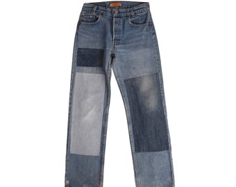 B Sides Patchwork Levi's 501 One of a Kind