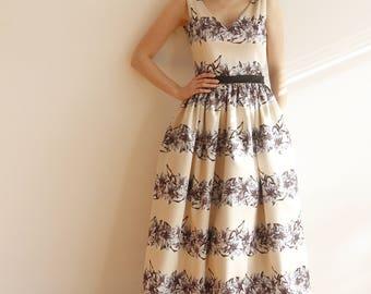 Maxi Satin dress with V open back