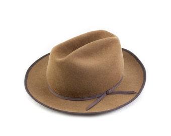 Camel Western Dress Hat