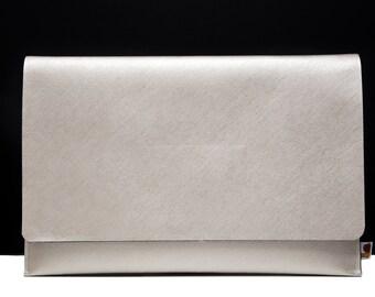 "MacBook Air Gold Case, 13"" MacBook Air Cover Bag, 11 inch Macbook Sleeve. Vegan Leather. Animal Friendly"
