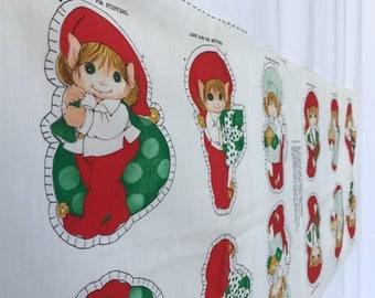 Vintage Elf Ornament Project Panel