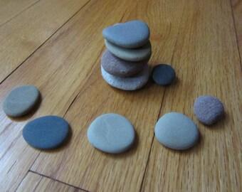Zen Rock Kit Lot of Stacking Stones Zen Stones Spiritual Meditation Stones Lake Michigan Stone Supplies