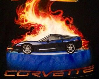 Vintage corvette shirt