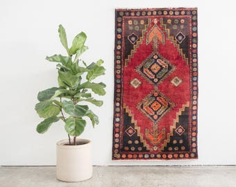 JIAAN 3x5 Hand Knotted Persian Wool Rug