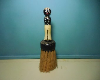 Antique Black Americana BellBoy Vanity Brush