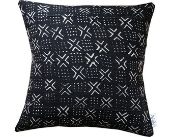 Domino BOGOLAN Mud Cloth/ African Mudcloth Pillow Covers (various sizes)