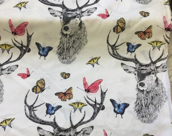 Michael miller fabrics dear butterfly in white by the Half metre