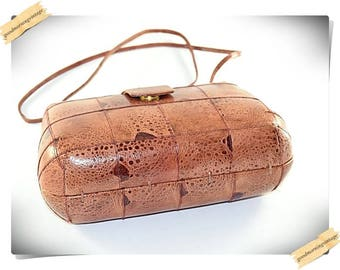Genuine Frog Skin Leather Purse