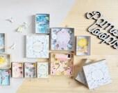 Personalized Surprise message box (large) / Miniature Art / Diorama / 3d Art / Decorative Matchbox / Miniature paper diorama