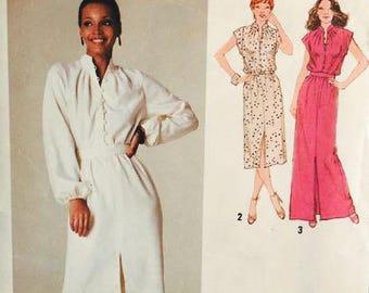Simplicity 9224 Misses Dress 1979