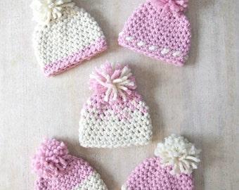 Oslo Winter Hat in Pink