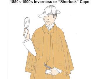 RH940 — Gentleman's Victorian Inverness Coat