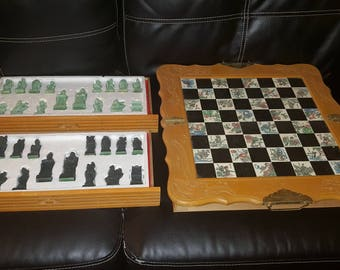 Asian chess game set