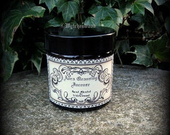 Aura Cleansing Incense 60ml Jar -  Witchcraft, Occult, Magic, Wicca, Pagan