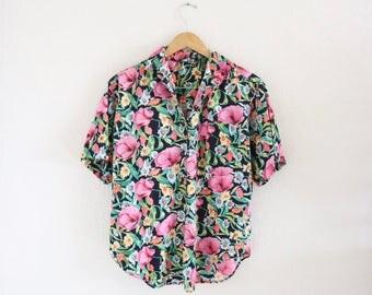 botanical camp shirt