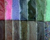 Sale Beads Closeout Destash Beads 14 Colors 20 Gram Bags 11/0 Quality Czech Glass Seed Beads Multi Colored Destash Seed Bead Lot DS-458-B