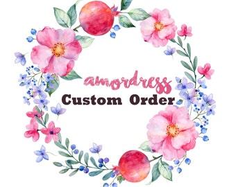 Custom order for Rosie