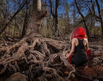 "Sacred Spirit Hood ""Root Chakra"""