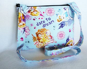 Kid's Crossbody Bag: Disney Princess