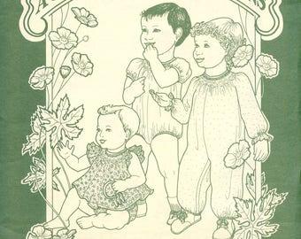 Bubble Pattern / Smocked Bubble / Smocked Bishop / Long Smocked Bubble / Smocked Top / Toddler / Buttercup / A Garden of Smocking Designs