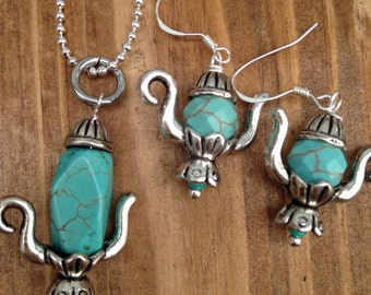 """Shop """"teapot necklace"""" in Jewelry Sets"""