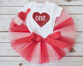"""Valentines birthday outfit """"Lovebug"""" girls birthday outfit valentines tutu set baby girl first birthday outfit valentines day outfit"""