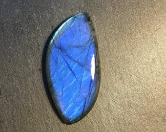 Chatoyant free form Labradorite flat back cabochon - stone for bezel - stone for jewelry making     Item #17-010405