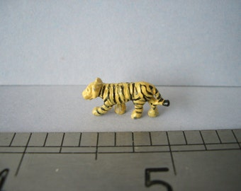 Tiny Tiger Ornament/Figurine for the Dolls House