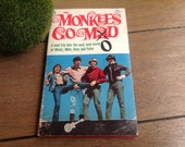 The Monkees Go Mod Paperback book from 1967 Photos, Comics, and fun facts