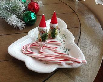 Platzgraff Winterberry Christmas Tree Plate