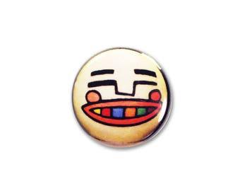 1 Inch Pinback Button Original - Vodsby the Clown