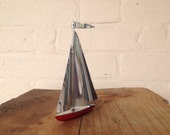 Vintage Art Deco Yacht - Paperweight