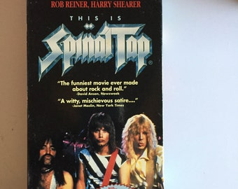 This Is Spinal Tap (VHS, 1992)  In Good Condition-plays great!