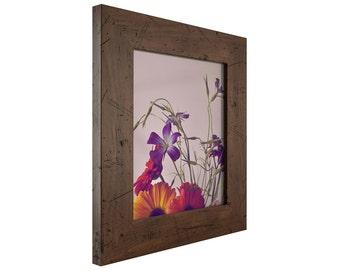 """Craig Frames, 18x18 Inch Dark Brown Picture Frame, Bauhaus 2"""" Wide (FM74DKW1818)"""