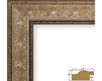 Craig Frames, 12x12 Inch Vintage Ornate Gold Picture Frame, Medici Ornate (95341212)