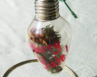 Handmade Herbal Yule Ornament and The Meaning of Yule - One Piece