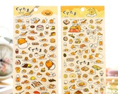 Egg Cartoon Travel Stamps Planner Stickers Funny Planner Stickers