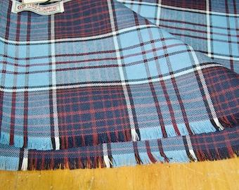 Red Canoe Canada Plaid Wool Scarf