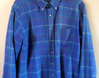 Vintage Men's Pendleton Flannel Shirt