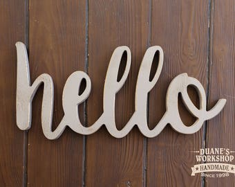 hello wooden sign home decor wooden sign rustic wooden sign white love sign